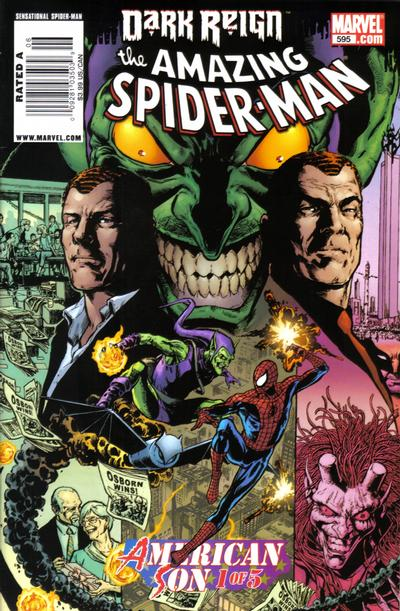 Cover for The Amazing Spider-Man (Marvel, 1999 series) #595