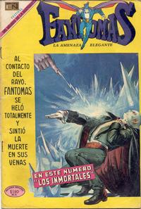 Cover Thumbnail for Fantomas (Editorial Novaro, 1969 series) #21