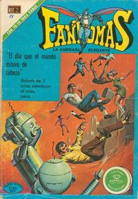 Cover Thumbnail for Fantomas (Editorial Novaro, 1969 series) #58