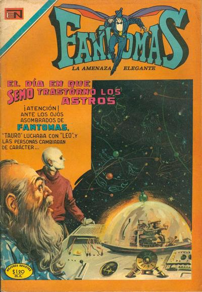 Cover for Fantomas (1969 series) #34