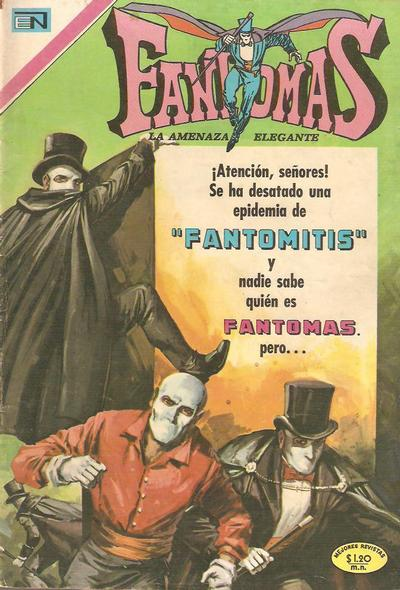 Cover for Fantomas (1969 series) #48