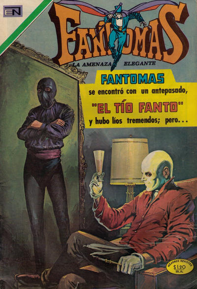 Cover for Fantomas (1969 series) #62