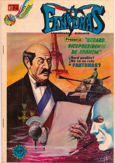 Cover for Fantomas (Editorial Novaro, 1969 series) #158