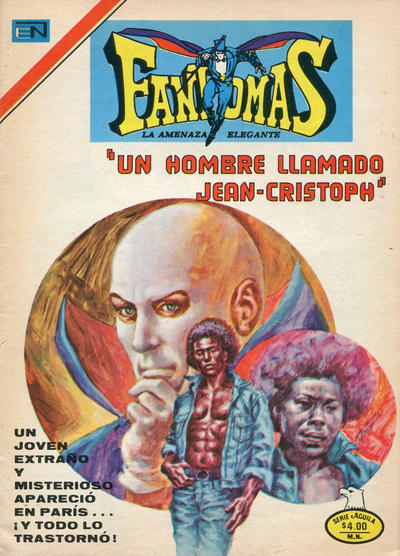 Cover for Fantomas (Editorial Novaro, 1969 series) #334