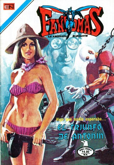 Cover for Fantomas (Editorial Novaro, 1969 series) #397