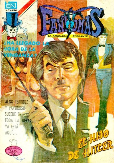 Cover for Fantomas (Editorial Novaro, 1969 series) #412