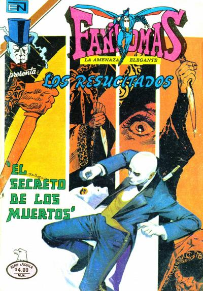 Cover for Fantomas (Editorial Novaro, 1969 series) #448