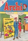 Cover for Archi (Editorial Novaro, 1956 series) #168