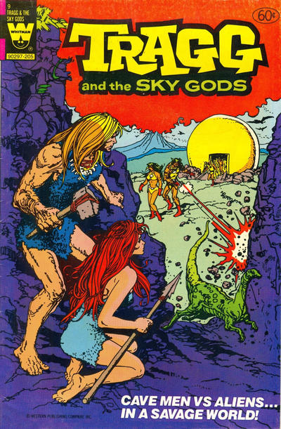 Cover for Tragg and the Sky Gods (Western, 1975 series) #9