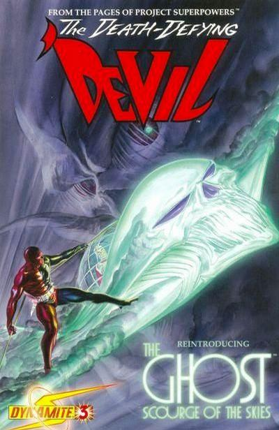Cover for Death-Defying 'Devil (Dynamite Entertainment, 2008 series) #3 [Negative Art Retailer Incentive - Alex Ross]