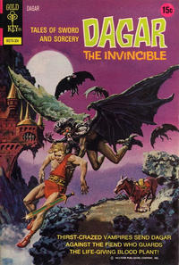 Cover Thumbnail for Tales of Sword and Sorcery Dagar the Invincible (Western, 1972 series) #3