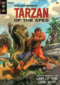 Cover Thumbnail for Edgar Rice Burroughs' Tarzan of the Apes (Western, 1962 series) #153
