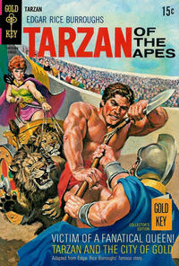 Cover Thumbnail for Edgar Rice Burroughs' Tarzan of the Apes (Western, 1962 series) #186