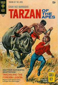 Cover Thumbnail for Edgar Rice Burroughs' Tarzan of the Apes (Western, 1962 series) #192