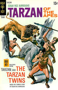Cover Thumbnail for Edgar Rice Burroughs' Tarzan of the Apes (Western, 1962 series) #196
