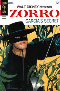 Cover Thumbnail for Walt Disney Presents Zorro (Western, 1966 series) #8