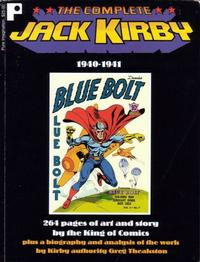 Cover Thumbnail for The Complete Jack Kirby (Pure Imagination, 1997 series) #[2] - 1940-1941