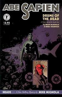 Cover for Abe Sapien Drums of the Dead (Dark Horse, 1998 series) #[nn]