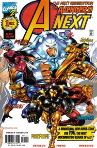 Cover Thumbnail for A-Next (Marvel, 1998 series) #1
