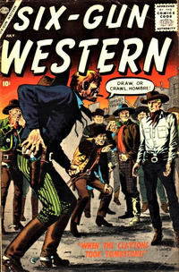 Cover Thumbnail for Six-Gun Western (Marvel, 1957 series) #4