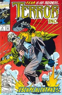 Cover for Terror Inc. (Marvel, 1992 series) #3