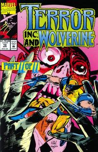 Cover Thumbnail for Terror Inc. (Marvel, 1992 series) #10