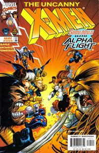 Cover Thumbnail for The Uncanny X-Men (Marvel, 1981 series) #355 [Direct Edition]