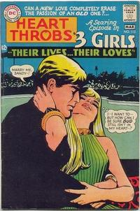 Cover for Heart Throbs (DC, 1957 series) #112
