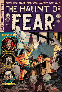 Cover for Haunt of Fear (EC, 1950 series) #19