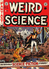 Cover Thumbnail for Weird Science (EC, 1951 series) #13
