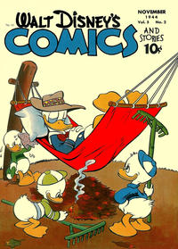 Cover Thumbnail for Walt Disney's Comics and Stories (Dell, 1940 series) #v5#2 (50)