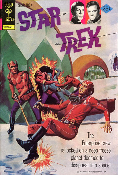 Cover for Star Trek (Western, 1967 series) #27 [Gold Key Variant]