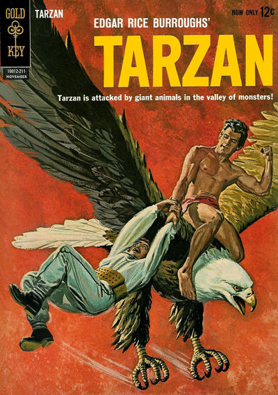 Cover for Edgar Rice Burroughs' Tarzan of the Apes (Western, 1962 series) #132