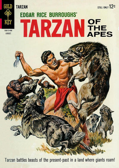 Cover for Edgar Rice Burroughs' Tarzan of the Apes (Western, 1962 series) #144