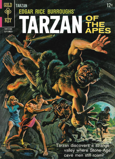 Cover for Edgar Rice Burroughs' Tarzan of the Apes (Western, 1962 series) #152