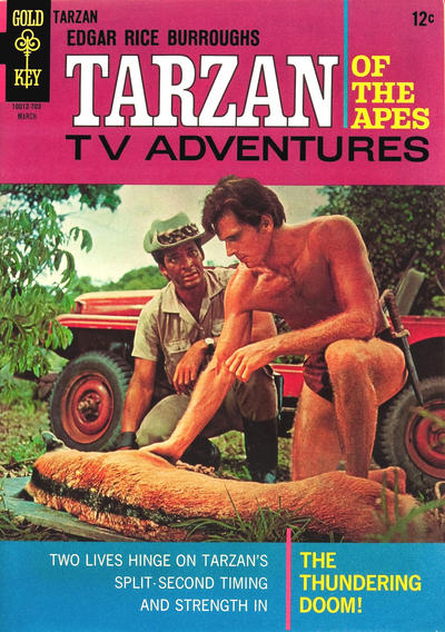 Cover for Edgar Rice Burroughs' Tarzan of the Apes (Western, 1962 series) #165