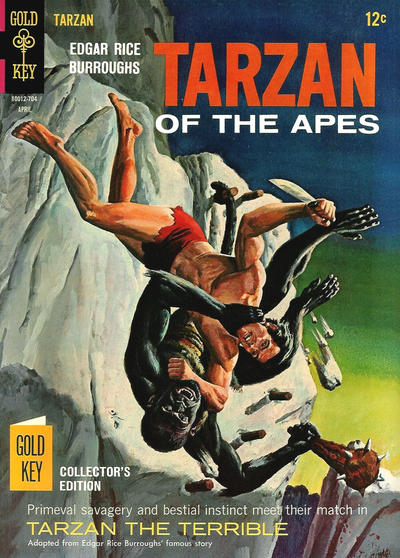 Cover for Edgar Rice Burroughs' Tarzan of the Apes (Western, 1962 series) #166