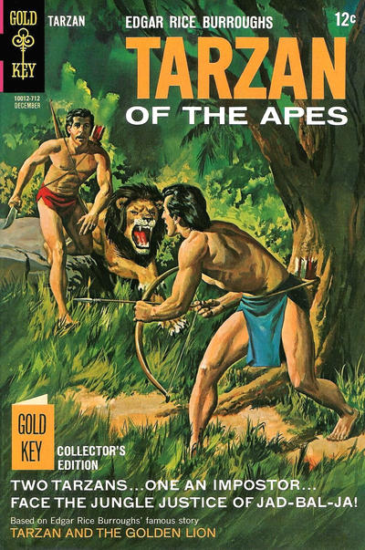 Cover for Edgar Rice Burroughs' Tarzan of the Apes (Western, 1962 series) #173
