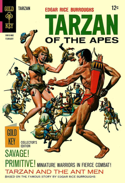 Cover for Edgar Rice Burroughs' Tarzan of the Apes (Western, 1962 series) #174