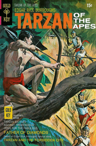 Cover for Edgar Rice Burroughs' Tarzan of the Apes (Western, 1962 series) #191