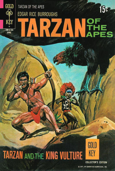 Cover for Edgar Rice Burroughs' Tarzan of the Apes (Western, 1962 series) #199