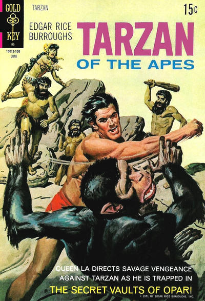 Cover for Edgar Rice Burroughs' Tarzan of the Apes (Western, 1962 series) #200
