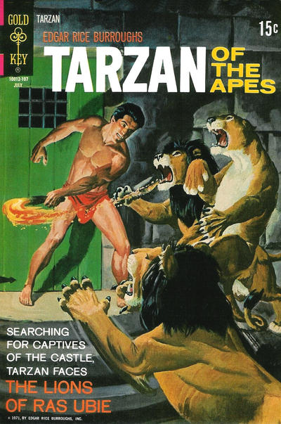 Cover for Tarzan (Western, 1962 series) #201