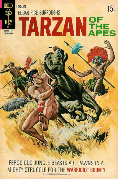 Cover for Edgar Rice Burroughs' Tarzan of the Apes (Western, 1962 series) #205