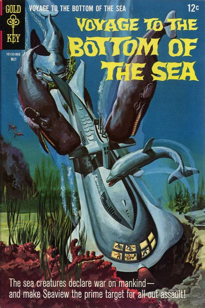 Cover for Voyage to the Bottom of the Sea (Western, 1964 series) #12