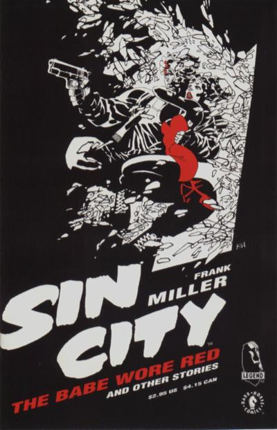 Cover for Sin City: The Babe Wore Red and Other Stories (1994 series) #[nn]