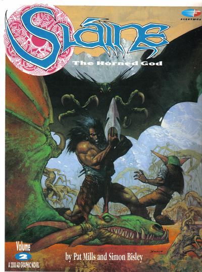 Cover for Slaine: The Horned God (1989 series) #2