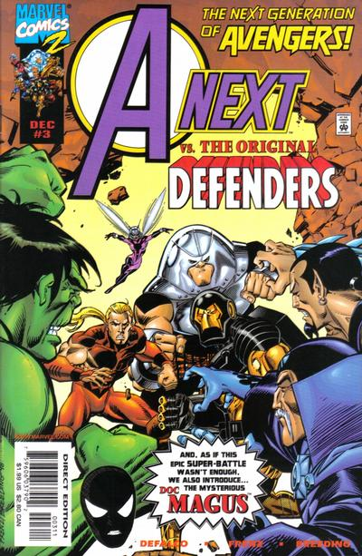 Cover for A-Next (Marvel, 1998 series) #3