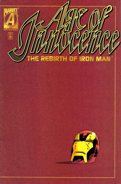 Cover for Age of Innocence: The Rebirth of Iron Man (Marvel, 1996 series)