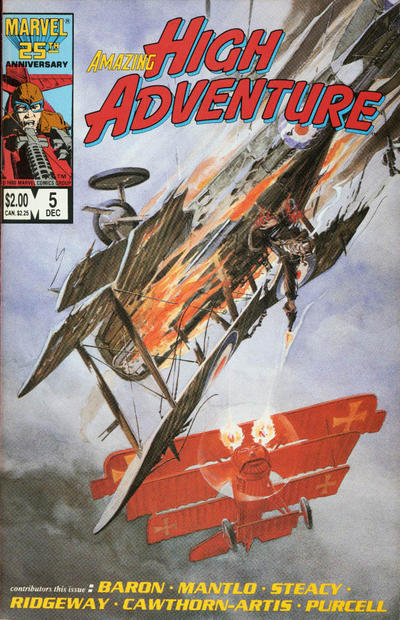 Cover for Amazing High Adventure (Marvel, 1984 series) #5